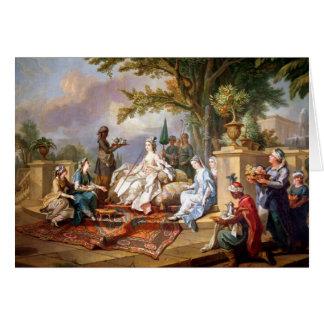 Cartes La Sultanine servie par ses eunuques