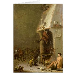 Cartes La taverne d'une sorcière