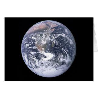 """Cartes """""""" La terre de marbre bleue semblent d'Apollo 17"""