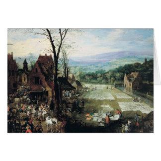 Cartes La terre du marché et de blanchiment, 1620-22