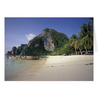 Cartes La Thaïlande, mer d'Andaman, île de phi de phi de