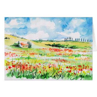 Cartes La Toscane