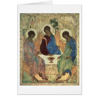 Cartes La trinité sainte, 1420s (tempera sur le panneau)