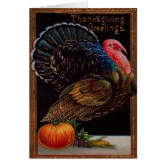 Cartes La Turquie et un citrouille