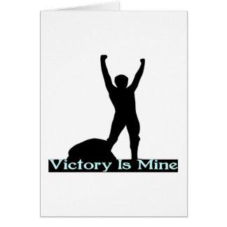 Cartes La victoire est la mienne