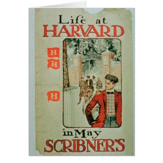 """Cartes La """"vie à Harvard"""", publicité par affichage que"""