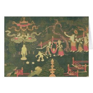 Cartes La vie de Bouddha Shakyamuni