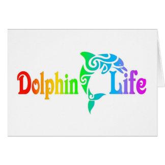 Cartes La vie de dauphin