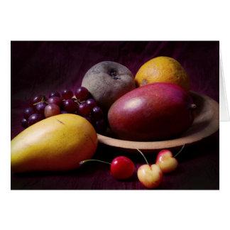 Cartes La vie de fruit toujours tropical