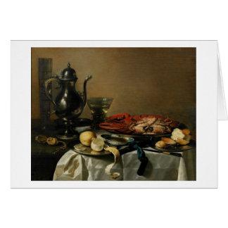 Cartes La vie toujours, 1643 (huile sur le panneau)