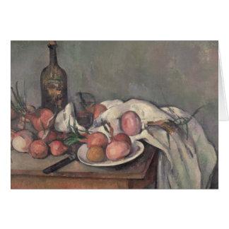Cartes La vie toujours aux oignons, c.1895