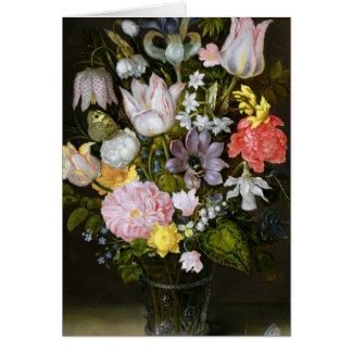 Cartes La vie toujours avec des fleurs