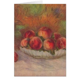 Cartes La vie toujours avec des fruits - Pierre-Auguste