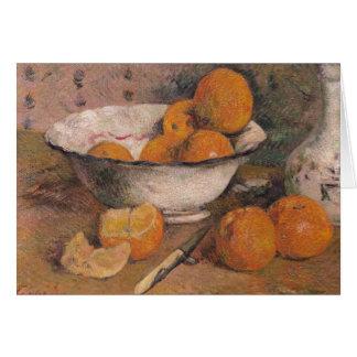Cartes La vie toujours avec des oranges, 1881