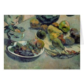 Cartes La vie toujours avec le fruit, 1888