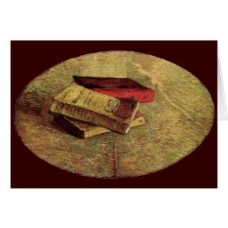Cartes La vie toujours avec trois livres par Vincent van