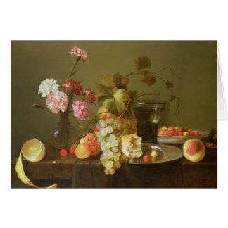 Cartes La vie toujours du fruit et des fleurs