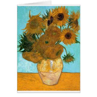 Cartes La vie toujours : Tournesols - Vincent van Gogh