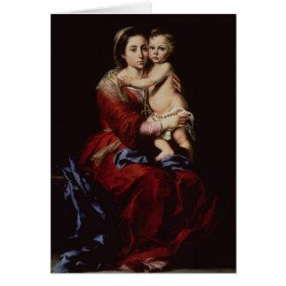 Cartes La Vierge du chapelet, c.1650