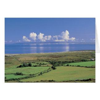 Cartes la vue panoramique des champs de ferme