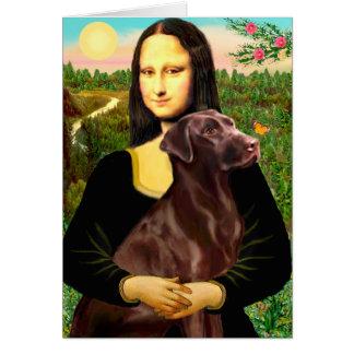 Cartes Labrador (Chcolate) - Mona Lisa