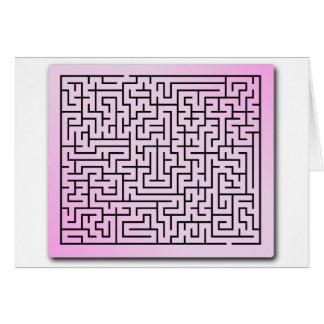 Cartes Labyrinthe pourpre de brume
