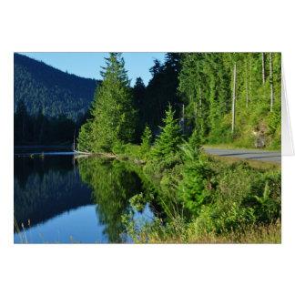 Cartes Lac bay de jardin