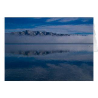 Cartes Lac brumeux