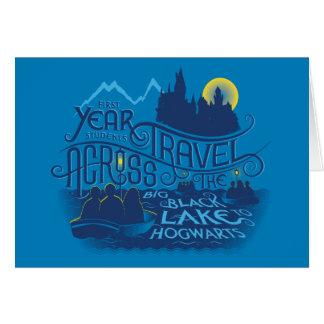 Cartes Lac noir harry Potter | à Hogwarts