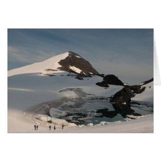 Cartes Lac superglacial de investigation Linda