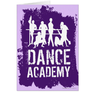 Cartes L'académie de danse silhouette le logo