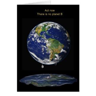 Cartes L'acte maintenant, là n'est aucune planète B