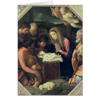 Cartes L'adoration des bergers, c.1640-42