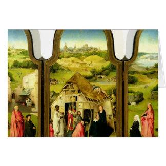 Cartes L'adoration des Magi, 1510