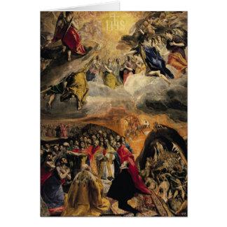 Cartes L'adoration du nom de Jésus, c.1578