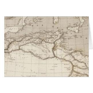 Cartes L'Afrique du nord