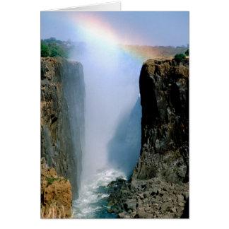 Cartes L'Afrique, Zambie, parc national des chutes