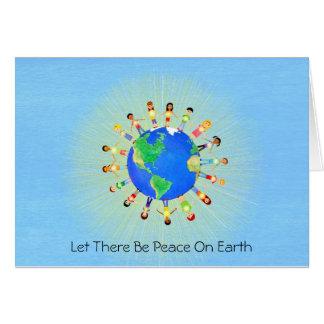 Cartes Laissé il y ait de paix sur terre