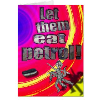 Cartes Laissez-les manger l'essence !