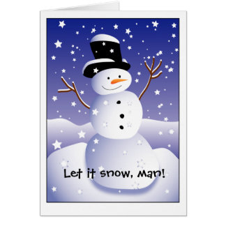 Cartes Laissez lui neiger, équiper !