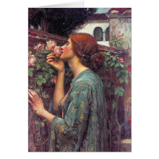 "Cartes ""L'âme du rose"" par John W. Waterhouse"