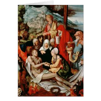 Cartes Lamentation pour le Christ, 1500-03