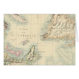 Cartes L'Amérique du Nord britannique 3
