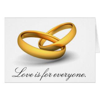 Cartes L'amour est pour chacun