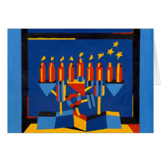 Cartes Lampe moderne de Hanoukka