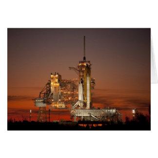 Cartes Lancement de navette spatiale de la NASA