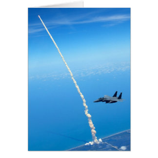 Cartes Lancement final de navette spatiale l'Atlantide -