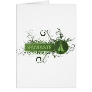 Cartes L'anglais vert de Namaste
