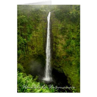 Cartes L'Anniversaire-Hawaï heureuse