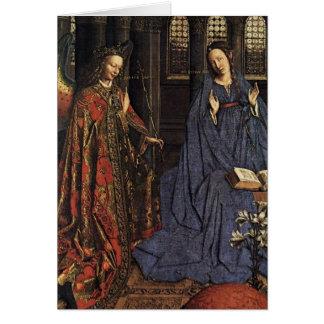 Cartes L'annonce avant janvier van Eyck